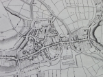 Lewes map 1824 (detail), by Figg