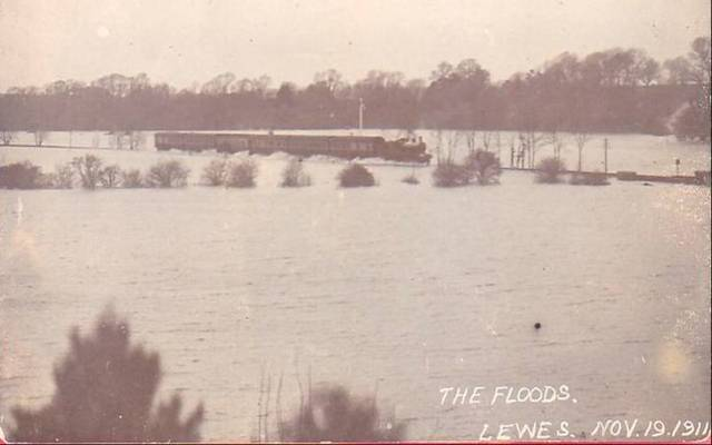 Flooding at Malling Brooks 1911