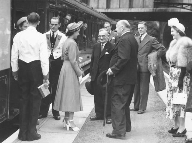 Princess Margaret visits Lewes, 1950s