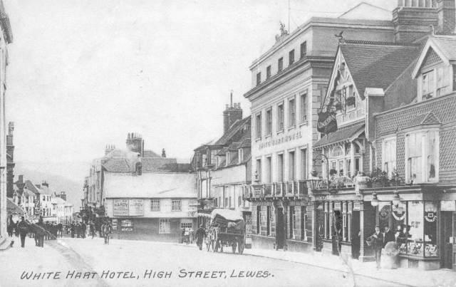 White Hart Hotel, Lewes