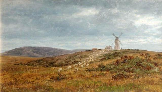 William_Luker_Landscape_Near_Lewes