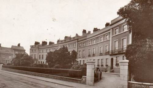Priory_Crescent_Southover_Lewes_postcard