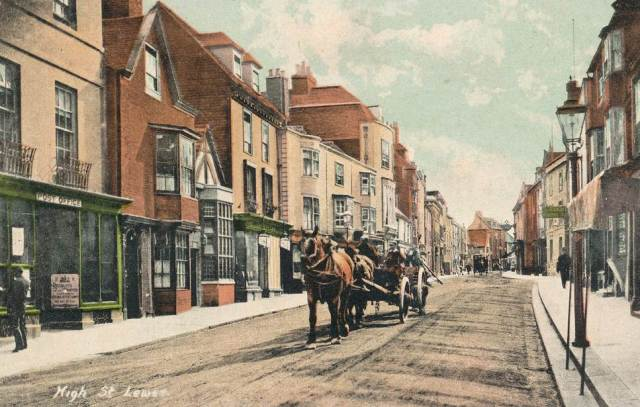 Lewes_High_Street_Edwardian