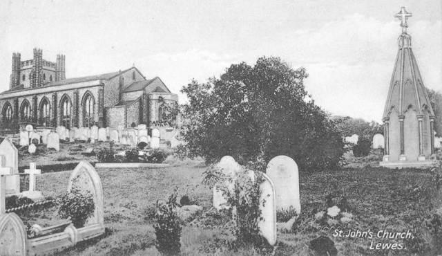 St_John_sub_Castro_Churchyard_Lewes