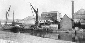 Boats_at_Phoenix_Iron_Works_Quay_Lewes