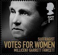 Millicent Garrett Fawcett stamp