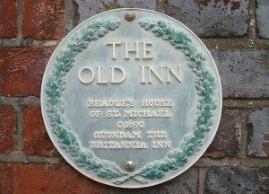 Britannia Inn plaque, Lewes