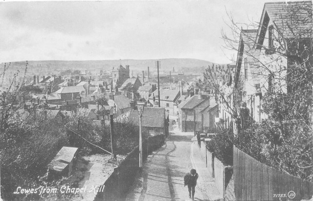 Postcard of Chapel Hill, Lewes
