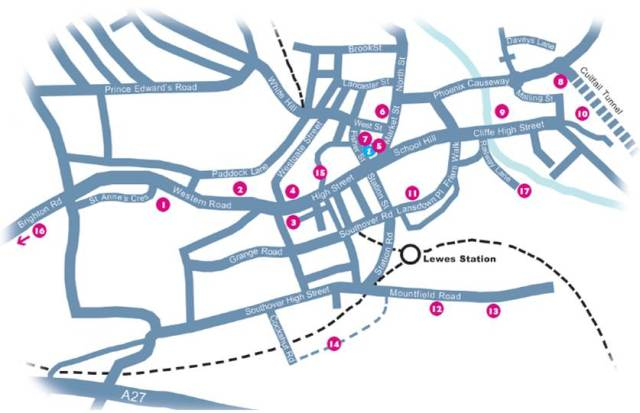 Lewes_Heritage_Open_Days_2013 map