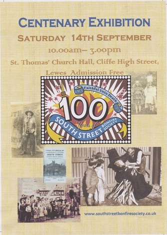 SSBS Centenary poster