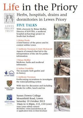 Lewes_Priory_5_talks_Poster
