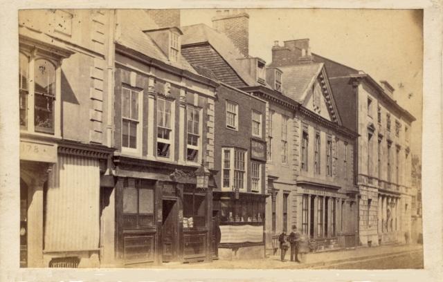 Lewes High Street by Blagrove c1874