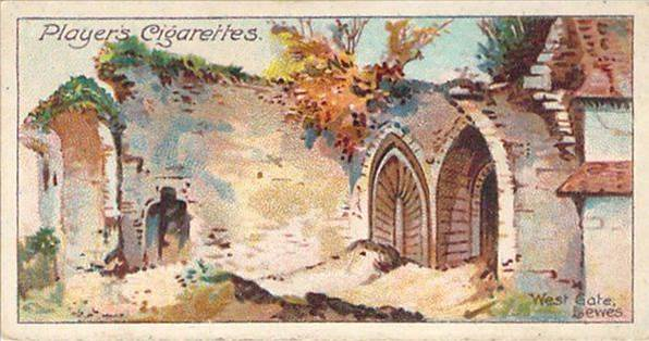 West_Gate_Lewes_Cigarerette_card