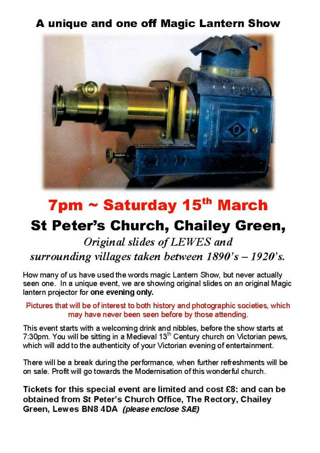 St Peters Magic Lantern Show poster
