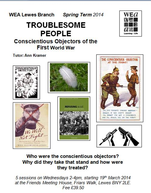 WEA_course_Troublesome_People poster