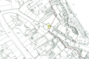Map_boundary_between_Cliffe_and South_Malling