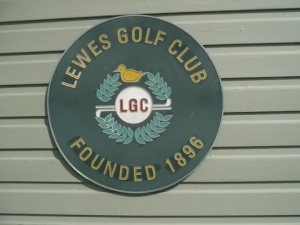 Lewes_Golf_Club_plaque