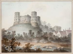Lewes_Castle_by_James_Lambert_Sr