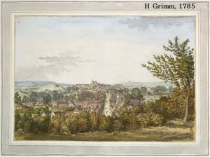 20_Lewes_from_Cliffe_Hill_by_Grimm