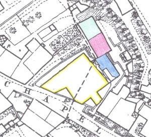 OS_1873_map_showing_properties_behind_Chapel