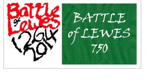 Battle of Lewes 750 logo