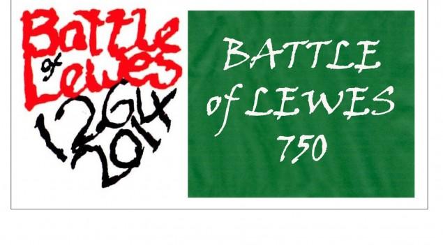Battle of Lewes 750 logo