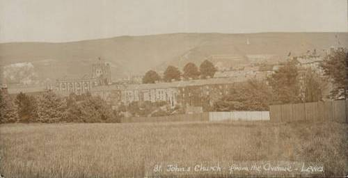 St_Johns_Church_from_the_Avenue_Lewes
