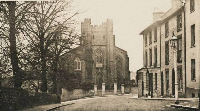 Abinger_Place_St_John-sub-Castro_Church_Lewes_postcard_1910