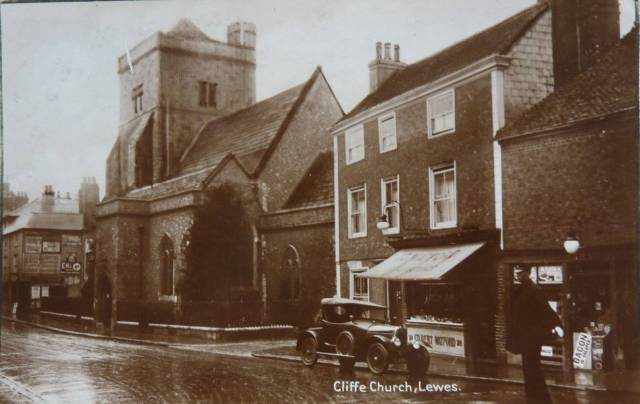 Cliffe_Church_Lewes_postcard