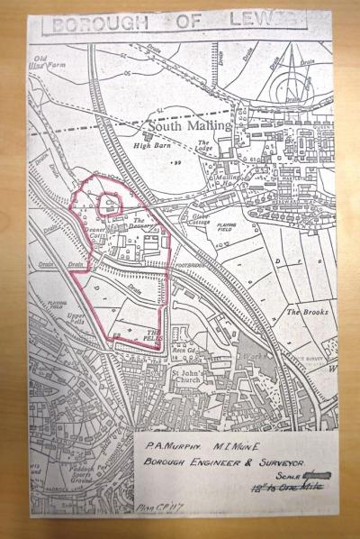 CP117 plan of Lamdin's sale 1969