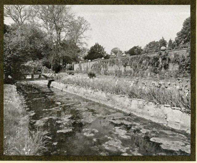 Malling Deanery water garden