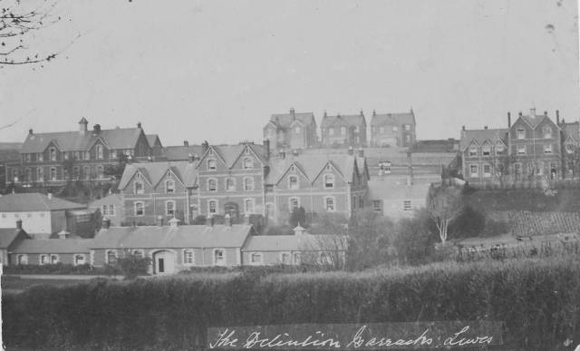 Detention Barracks Lewes postcard