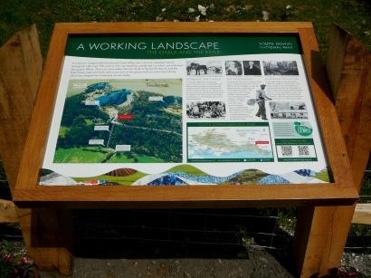 Offham Chalk Pits board