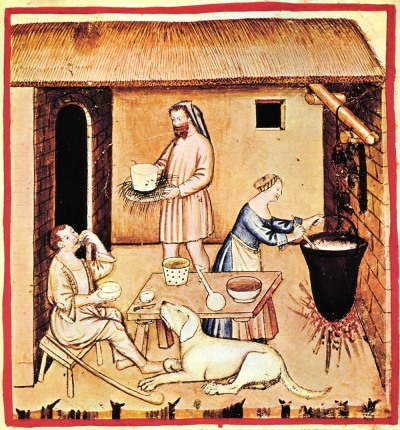 Wilkins - making medieval meals