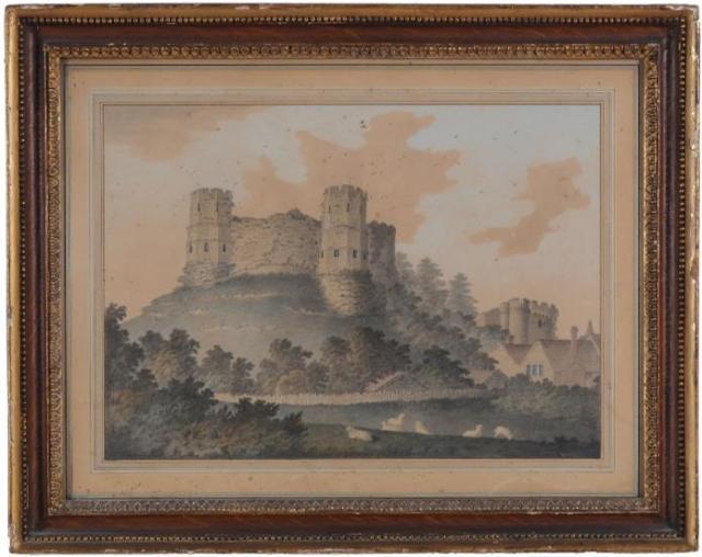 Lambert_Lewes_Castle_1786