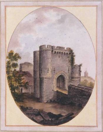 Lambert_Lewes_Castle_entrance_1776