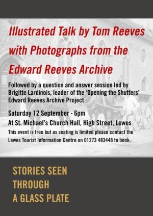 Tom Reeves talk September 2015