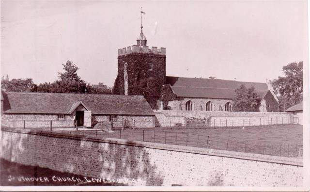 Southover_Church_Lewes_postcard