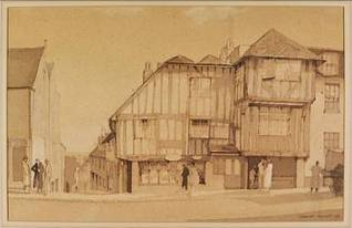 Charles_Knight_1940_15th_Century_House_High_Street_Lewes