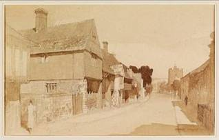 Charles_Knight_1940_High_Street_Southover_Lewes