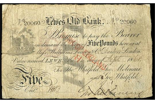 Lewes_Old_Bank_Victorian_banknote