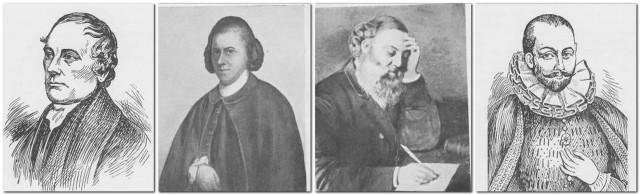 4 Holman portraits