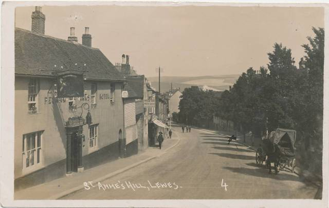 St_Anne's_Hill_Lewes_postcard