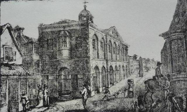 Lewes_Old_Town_Hall_Rouse_lithograph