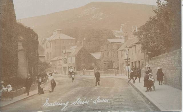 Malling_Street_Lewes_Cheetham_Edwardian_postcard