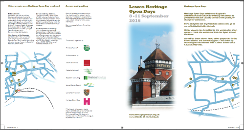 Lewes Heritage Open Days 2016 image