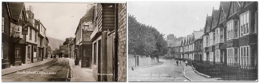 South Street and Grange Road Lewes