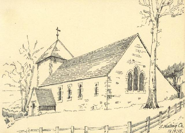 south-malling-church-1915-drawing