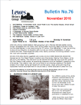 Lewes History Group Bulletin front page