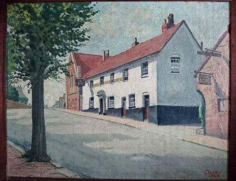 pelham-arms-lewes-elvin-1949-painting